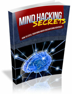 Mind Hacking Secrets Free shipping Master Resell Rights PDF ebook S PLR 2019 NEW