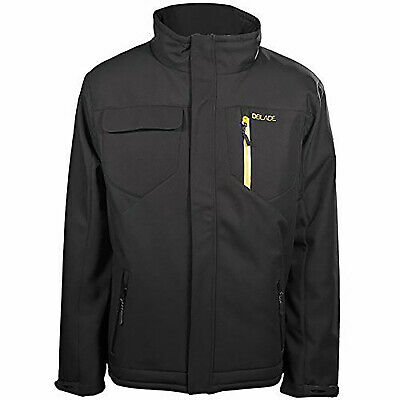 DBlade Mens Technical Water Wind Resistant Casual Workwear Jacket Black