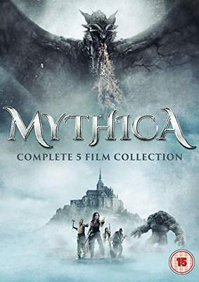 Mythica 1-5 Complete 5 Film Collection [Dvd] Bs - New & Sealed