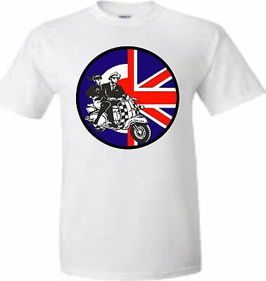 e1165189 Adults And Kids Ska Mods Union Jack Bullseye Design Fun T Shirt Sizes Xs To  Xxl