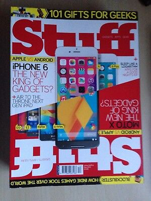 Stuff - World's Best Selling Gadget Magazine 2014 - 12 issues