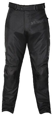 G-MAC Pilot Mens Black Textile Waterproof Motorcycle Trousers New