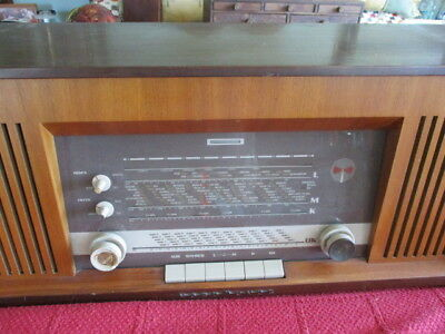 Vintage Norma Mende 50 Hz Radio Stereo V300  #51682 W-Germany Working Vg Cond