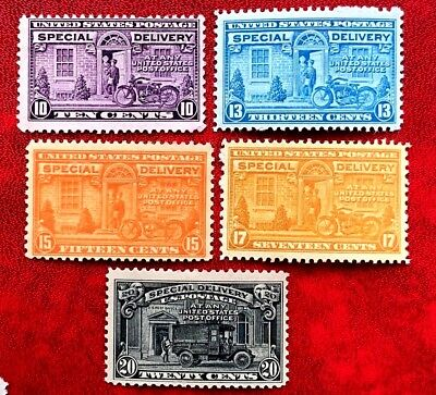 US Special Deliver Stamps SC# E15, E16, E17,E18 Mint NH or LH/OG