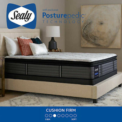 Sealy Posturepedic Response Premium West M Cushion Firm King Mattress And Fo