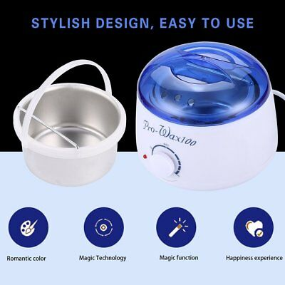 Professional Wax Warmer Paraffin Pot Heater Hair Removal Removable Pot ♣♬