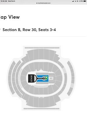 2 Michael Buble Tickets Msg Madison Square Garden New York 7/24 Floor Tickets