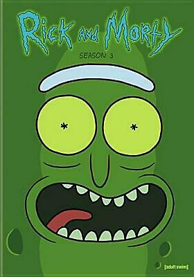 Rick and Morty:complete Third Season - DVD Region 1 Free Shipping!