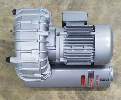 NEW BECKER SV 5.250/1 SIDE CHANNEL BLOWER REGENERATIVE VACUUM 190 mBAR