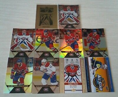 2018 -19 Montreal Canadiens  Tim Hortons Upper Deck Team Set Lot Ud 18-19 Price