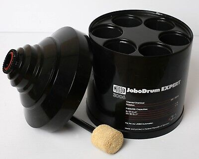 Jobo 3006 Expert Drum with # 3007 Sponge Tool (for 5X7 and 4X5)