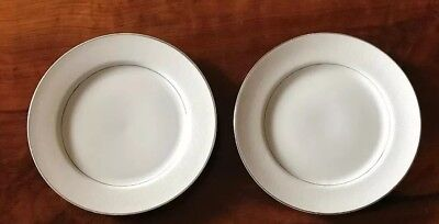 2 Southwicke Porcelain China 10 Dinner Plates Japan White Lace