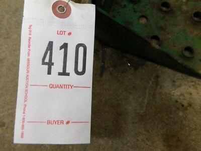 JD 10 or 20 Series Tractor Side Step Tag #410