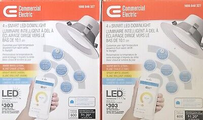 Commercial Electric 4in Smart LED Downlight