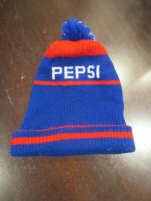 0be0421e6ca Vintage Pepsi cola hat Toque beanie One Size