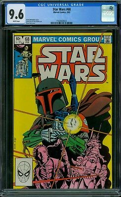 Star Wars 68 CGC 9.6 - White Pages
