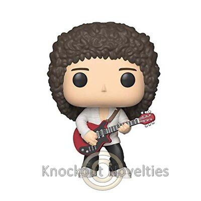 POP Rocks: Queen  Brian May Funko Collect Figure Vinyl Bobble Head Funko Collect
