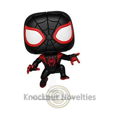 POP Marvel: Animated Spider - Man - S M Miles Funko Collect Figure Vinyl Bobble