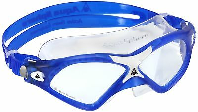 Aqua Sphere Seal XP2 Swim Mask, Made in Italy, Clear Lens/Blue/White