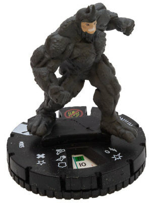 Rhino - (005) Marvel HeroClix M/NM with Card Earth X