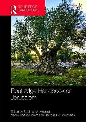 Routledge Handbook on Jerusalem Hardcover Book Free Shipping!