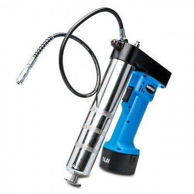 Grease Gun Cordless Pro 14.4 V Rechargeable lithium-ion Battery Li-ion W/Case