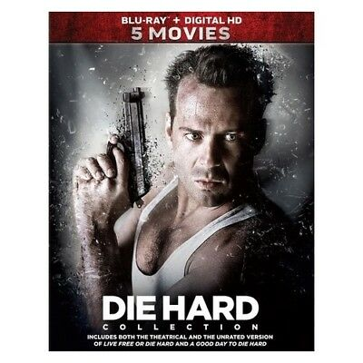 Tcfhe Br2340395 Die Hard-5 Movie Collection (Blu-Ray/digital Hd/1-5/re-Pkgd)