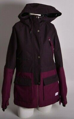a5343117899e 2012 WOMENS NIKE ALPINE VIEW SNOWBOARD JACKET S Mulberry polyester sb used