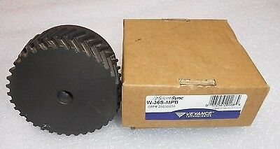 "ContiTech W-36S-MPB SilentSync Sprocket 36 teeth, 3.609 pitch, 1-1/4"" width"