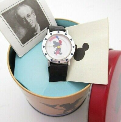 MICKEY MOUSE,Michael Graves,ART DECO,.925 Case,MEN'S CHARACTER WATCH,MIB,R11-01