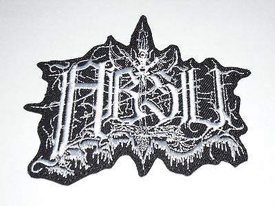 Absu Logo Black/Thrash Metal Iron On Embroidered Patch
