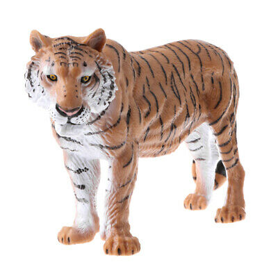 Realistic Tiger Animal Model Wild Life Role Play Figure Figurine Kids Toys