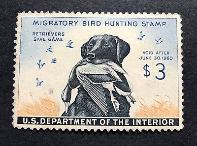 WTDstamps - #RW26 1959 - US Federal Duck Stamp - NH - Dull Gum