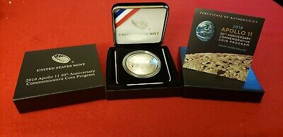 2019 Apollo 11 50th Anniversary Silver Proof Dollar