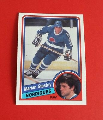 1984/85 O-Pee-Chee Hockey Marian Stastny Card #292***Quebec Nordiques***