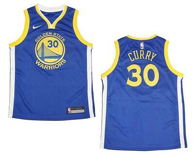 cd9d6614eb6 Youth Nike Stephen Curry Golden State Warriors Royal Swingman Jersey XL  (18/20)