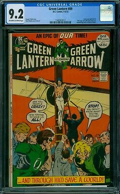 Green Lantern 89 CGC 9.2 - OW/W Pages