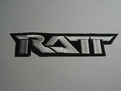 Ratt Iron On Embroidered Patch