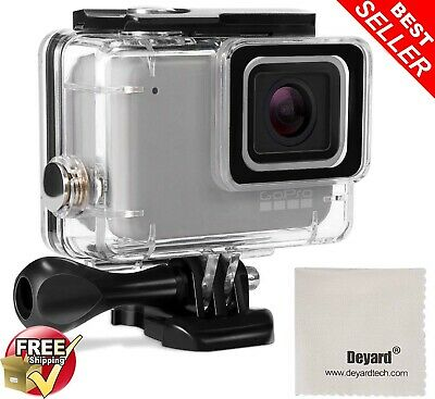 Deyard Waterproof Housing Case for GoPro Hero 7 White 7 Silver with Quick...