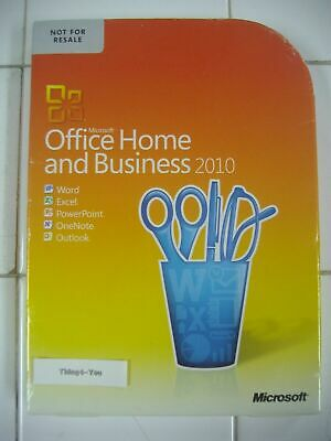 Microsoft Office 2010 Professional For 2 PCs Full Version MS Pro=NEW SEALED BOX=