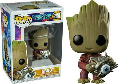 2f6612ed527 FUNKO POP  GUARDIANS of the Galaxy Vol. 2 - Baby Groot with Cyber Ey (BRAND  NEW) - EUR 20
