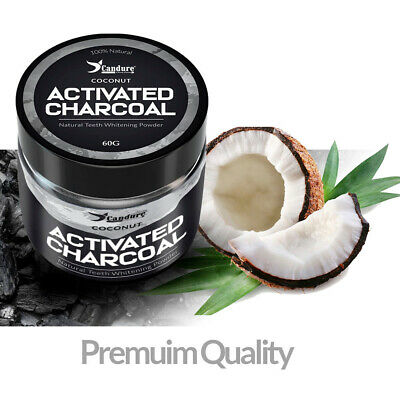 Natural & Activated charcoal powder for teeth whitening+Stain remover toothpaste