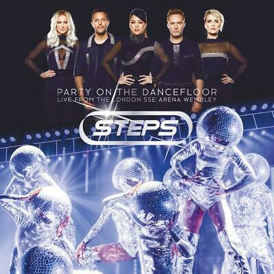Steps – Party On The Dancefloor - Live London Sse Arena Wembley 2Cd (New)