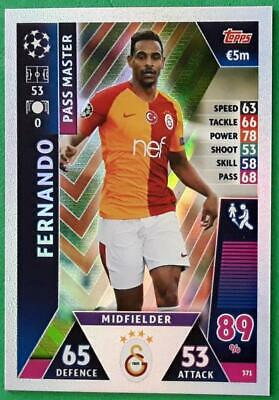 Topps Match Attax Champions League 2018-2019 Card Nr.371 Fernando