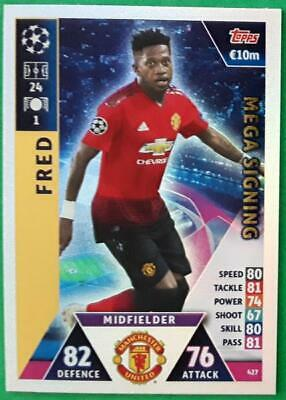 Topps Match Attax Champions League 2018-2019 Card Nr.427 Fred