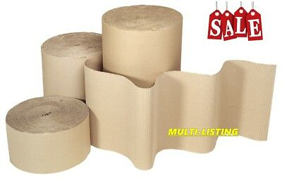 Packaging Strong Corrugated Cardboard Paper Rolls - All Widths & Sizes