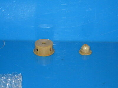 Zenith Radio Parts,  Main Tuning Original Knob Big One Cream Color On The Left