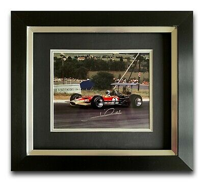 Mario Andretti Hand Signed Framed Photo Display - Lotus - Formula 1.