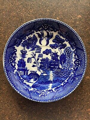 Blue Willow Made In Japan Small Saucer