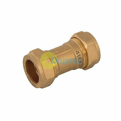 Single Check Valve  Brass Stainless Steel And Polymer One Way Valve 22mm
